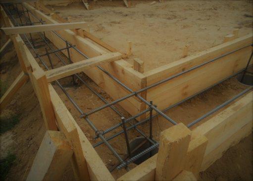 Як зробити фундамент для будинку з піноблоків