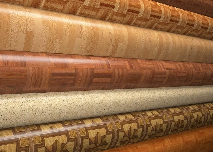 Укладання лінолеуму на дерев'яну підлогу
