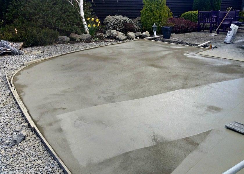 Термін висихання бетону