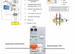 Для чого у деяких дифавтоматах два важеля вимикача