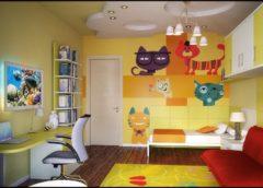 Ремонт дитячої кімнати для дівчинки - вибір оформлення