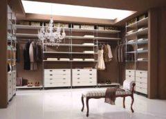 Гардеробна в квартирі - альтернатива громіздким шафам