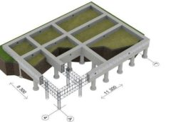 Фундамент на палях (сваях) для будинку
