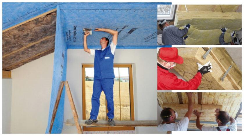 як вибрати мінвату для утеплення даху