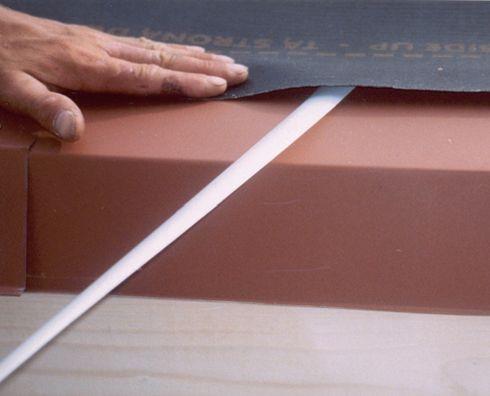 Правильне укладання первинних покривних мембран - крок 5
