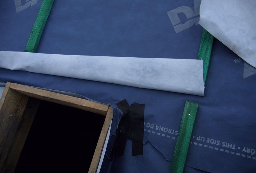 Правильниймонтаж супердифузійної мембрани на дах - крок 7