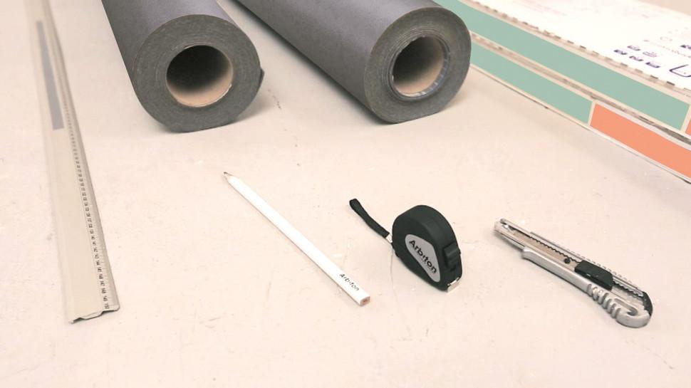 Як укладати вінілову підлогу - інструкція. Підготовка поверхні2