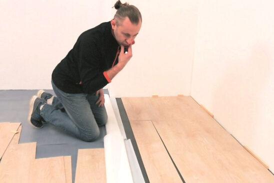 Як укладати вінілову підлогу - інструкція. Вінілове покриття для підлоги