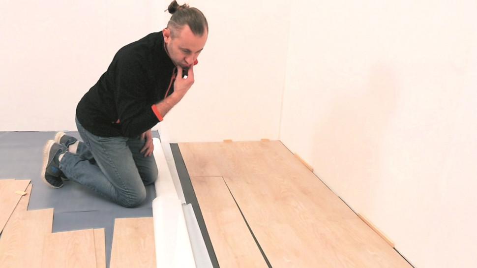 Як укладати вінілову підлогу