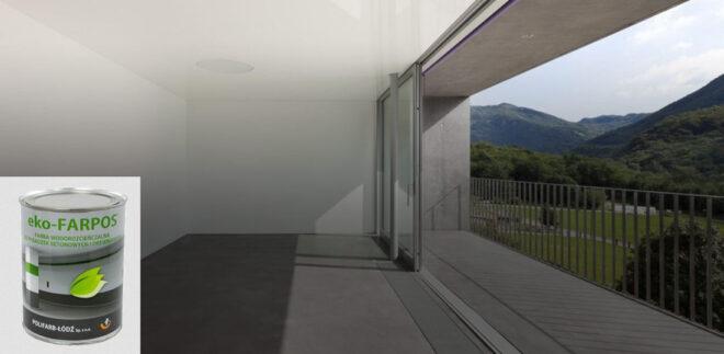 Фарба для бетону, сходів, підлоги тераси й фундаменту