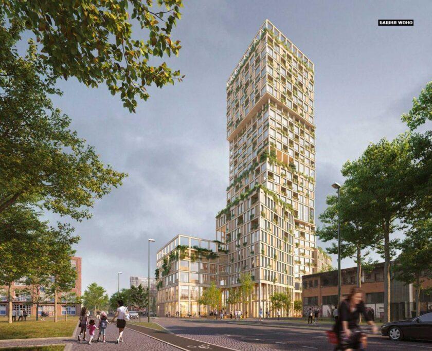 Дерев'яний хмарочос в Берліні побудує MAD Arkitekter