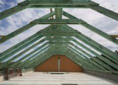 Монтаж даху. Мауерлат, розміри, кріплення, утеплення