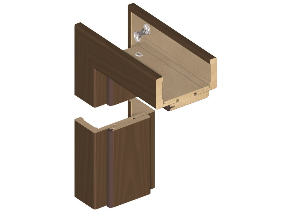 Встановлення внутрішніх дверей - встановлюємо нову раму та стулки