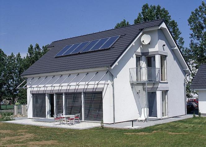 У енергоефективних будинках дизайну з балконами уникають